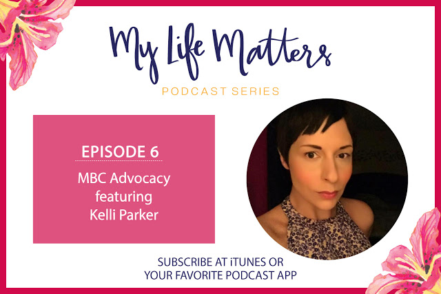 Kelli Parker's MY LIFE Matters Podcast