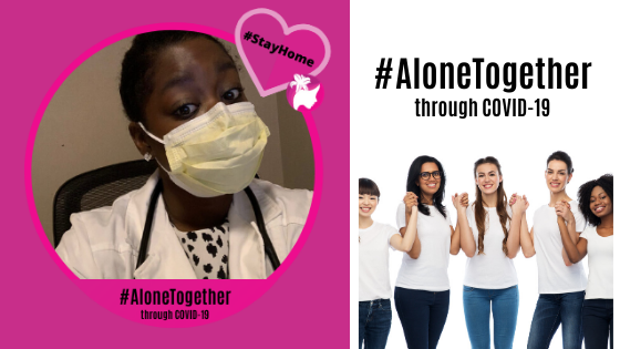 #StayHome with Shonte Drakeford, MBC ANGEL Advocate
