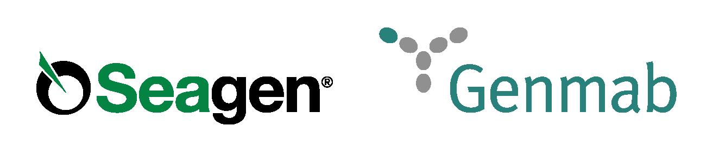 Seagen Logo Collaboration_Genmab